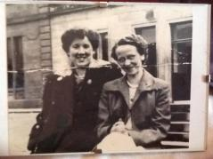 1950s Helen Robb & friend