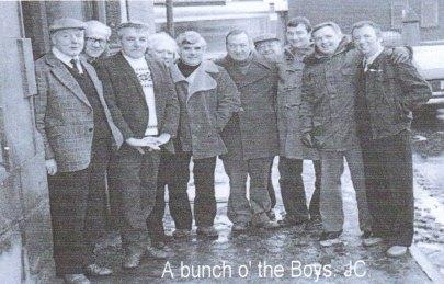 1979 Men at Old Original Pub