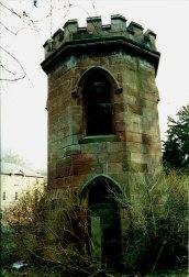 Close up Craighead Folly 2002 by A Rochead