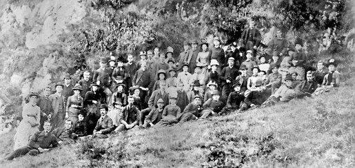 1886 Blantyre Group at Louden Hill. Restored by A Rochead