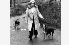 1970s Margo MacDonald MP at Pech Brae, Barnhill