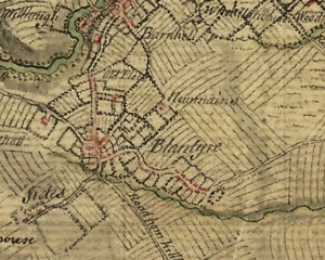 1747 High Blantyre Project map