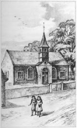 1793 Previous Blantyre Parish Church built (PV)