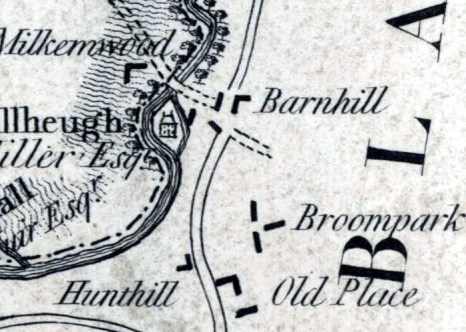 1795 Map Milheugh