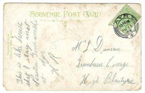 1908 John Duncan postcard Blantyre project
