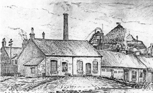 1953 Colliery sketch blantyre