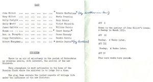 1969 Programme blantyre project