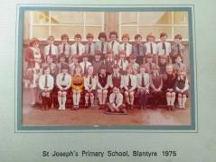 1975 St Josephs Primary School shared by Lainey McGuckin