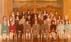 1975 St Josephs Primary Staff