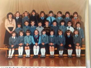 1979 High Blantyre Primary 4 Miss Gibson. Own collection.