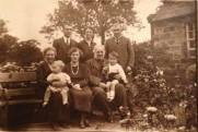 1921 The Jacksons at Park Farm, sent in by Helen Jackson