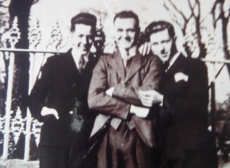 1934 John Muir in middle sent in by his daughter Mary Falco