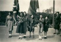 1950 May. 4th Blantyre Guides at Anderson Church