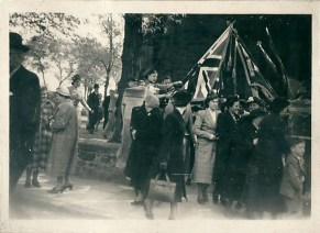 1950 May. 4th Blantyre Guides and Scouts at Anderson Church, Blantyre