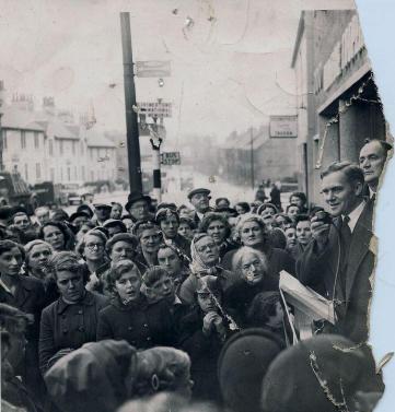 1953 Daniel Morrison at Low Blantyre Co-op