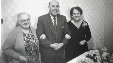 1957 Mrs Smith, Donald McKechnie & Agnes Donaldson