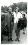 1969 Joe Veverka and Janet Duncan at Luss Highland Games