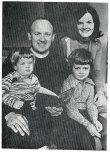 1976 Rev Silcox & family High Blantyre Old Parish Church (PV)