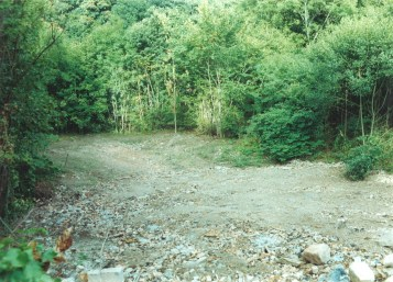 2005 Ground after Blantyre works Mill Factories were demolished