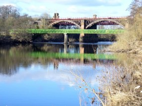 2013 Clyde Bridge from Uddingston