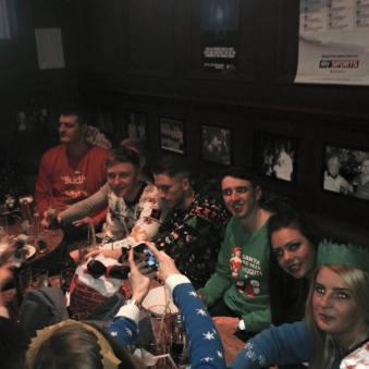 2014 John Carrigans December party