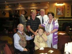 2014 Margaret O'Brien with her 4 children James, Pat, Peter and Elizabeth x.