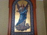 2014 Cochrane Chapel mosaic at Hamilton Town Hall