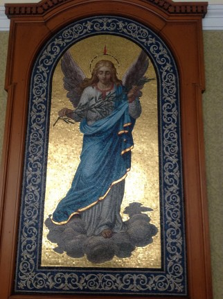 2014 Cochrane Chapel mosaic at Hamilton by P Veverka