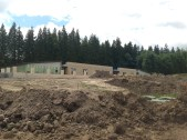2014 June. Crossbasket Nursery being constructed