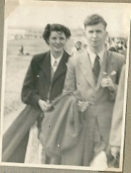 1953 June. Nancy Duncan and Ronnie MacFarlane.