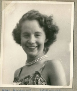 1953 June. Nan Higgenson possibly one of the cub leaders.