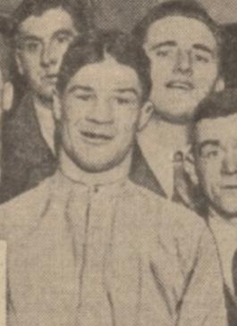 1933 Frank Markey , Blantyre boxer