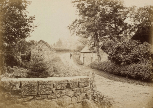 1880 Photos showing TWO mills bottom of Peth Brae