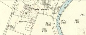 1898 Caldergrove map