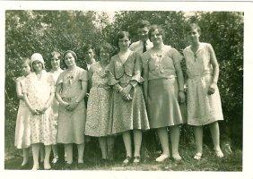 1929 Milheugh Workers. Pictured also John Duncan in tie