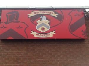 2014 John Carrigans sign