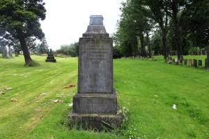 1877 Dalbeath monument
