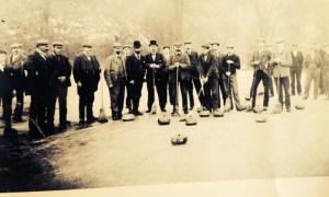 1891 Blantyre Curling Team