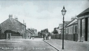 1910 High Blantyre Main Street showing Apocathery Hall