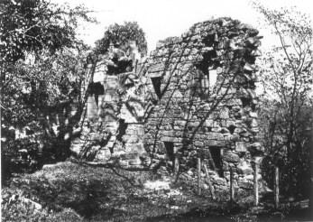 1920's Blantyre Priory Ruins