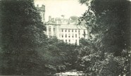 1920s Calderwood Castle from Blantyre