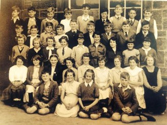 1955 Ness's School Low Blantyre (Stonefield Primary)