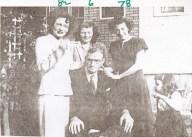 1950 Tom Dolan & his three daughters