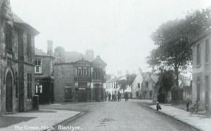 1915 High Blantyre Top Cross at Kirkton