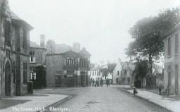 1915 High Blantyre Top Cross at Kirkton (PV)