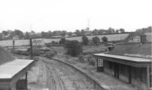 1960s High Blantyre Station looking to Sydes Brae
