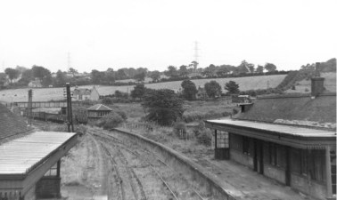 1958 High Blantyre Station looking to Sydes Brae