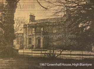 1967 Greenhall House in May before demoiltion