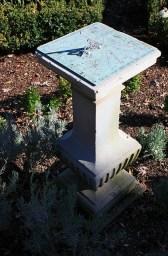 Crossbasket Sundial at Tudor Place