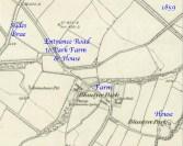 1859 Map to Park Farm & Park House, Blantyre